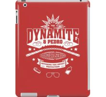 The Napolean and Pedro Bodyguard Service iPad Case/Skin