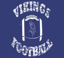 Vikings Football Distressed look by JamesChaffin