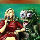 TV Alien by Matt Bissett-Johnson