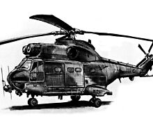 Puma Helicopter by olivercook