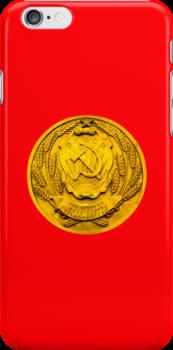 Soviet Classic iPhone Case by Irina Chuckowree