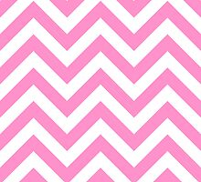 zigzag chevron pattern in pink color by nadil