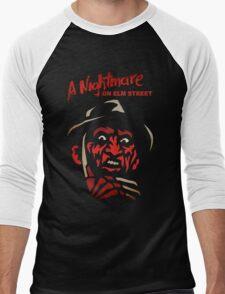 Freddy Krueger Forever Men's Baseball ¾ T-Shirt