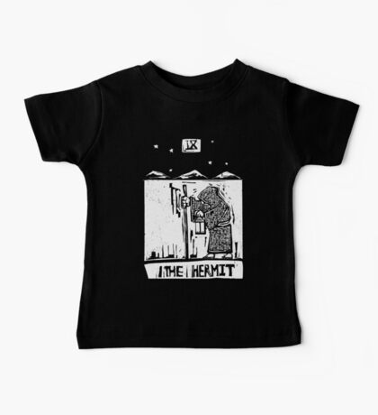 The Hermit  - Tarot Cards - Major Arcana Baby Tee