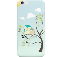Sleeping Owls iPhone Case/Skin