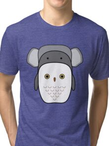 Animals tetris Tri-blend T-Shirt