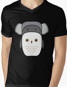 Animals tetris Mens V-Neck T-Shirt