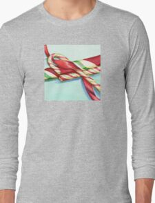 Candy Canes Long Sleeve T-Shirt