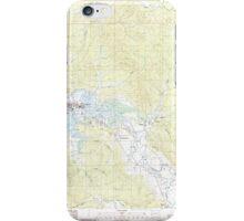 USGS Topo Map Washington State WA Raymond 243386 1986 24000 iPhone Case/Skin