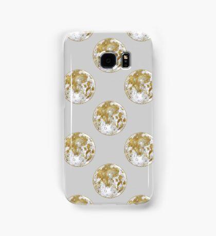 Golden Moon Pattern Samsung Galaxy Case/Skin