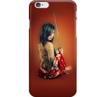 Geisha Punk iPhone Case/Skin