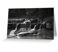 Lower Taughannock Falls Greeting Card