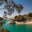 Emerald Lake with Duke House. El Chorro. Spain by JennyRainbow