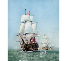 First Journey Of The HMS Victory Photographic Print