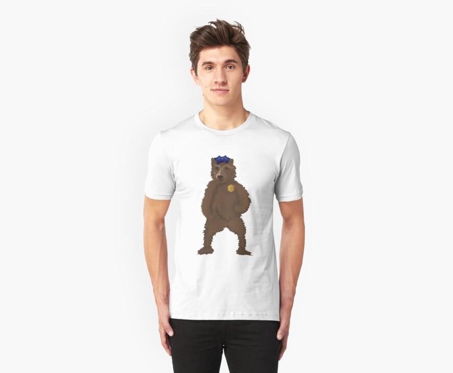 Bear Cop by tinacake