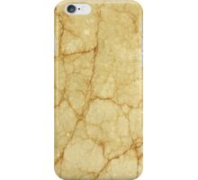 Yellow marble iphone case iPhone Case/Skin