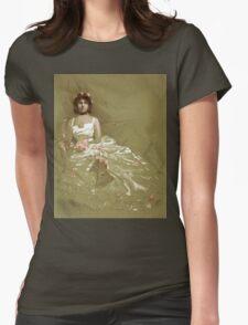 Vintage girl in dress T-Shirt