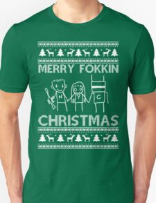 Chappie Christmas Unisex T-Shirt