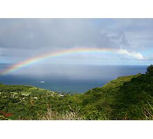 Hawaii Rainbow, Hana Photographic Print