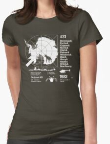 ODE #02 Womens Fitted T-Shirt