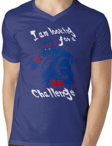 Ryu A New Challenger Mens V-Neck T-Shirt