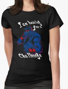 Ryu A New Challenger Womens Fitted T-Shirt