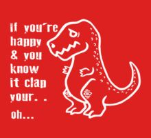 If You're Happy Clap Your Hands Kids Clothes