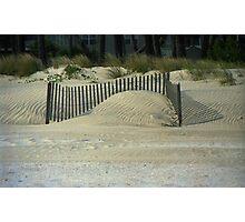 Beach Sand Dunes Photographic Print