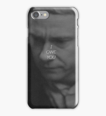 I OWE YOU - SHERLOCK iPhone Case/Skin