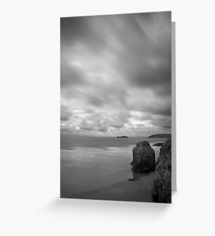 Wind and Water Portrait Greeting Card