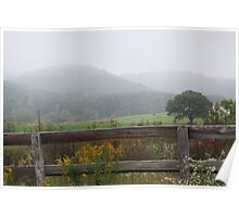 FOG OVER THE KNOBS Poster