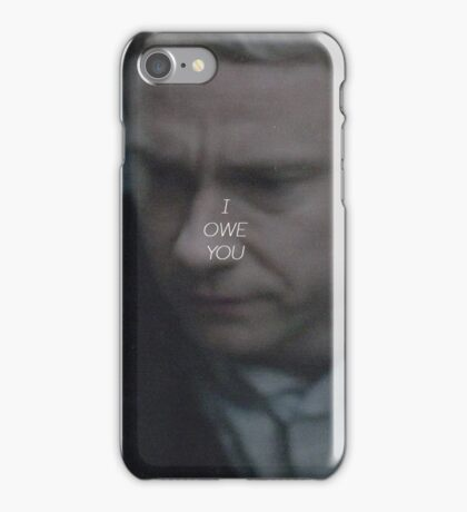 I OWE YOU - SHERLOCK (COLOUR) iPhone Case/Skin