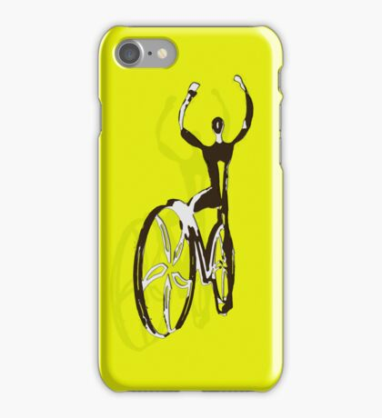 Cyclist iphone iPhone Case/Skin