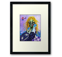 Alice and Chez Framed Print