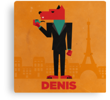 Denis (LE LOUP-GAROU) Canvas Print