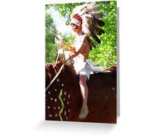 Pow Wow Parade Greeting Card