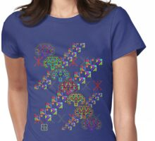 """Pythagorean Triples Squares Trees""© Womens Fitted T-Shirt"
