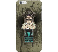 Victorian Fight Club - Tattoo Splatter iPhone Case/Skin