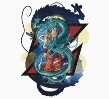 Dragon Ball Z - Goku the Hero Kids Tee