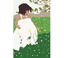 Flower girl Photographic Print