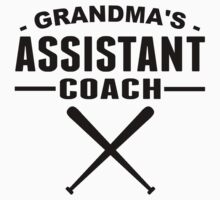 Grandma's Assistant Softball Coach by ReallyAwesome