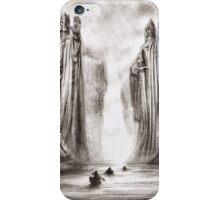 The Argonath iPhone Case/Skin