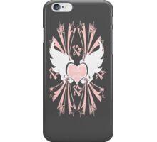 Vegan Babe in Pink iPhone Case/Skin