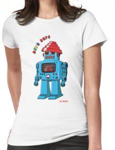 Devo Bots 002 Womens Fitted T-Shirt