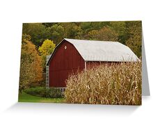 Barns Greeting Card