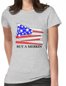 Buy A Merkin Womens Fitted T-Shirt