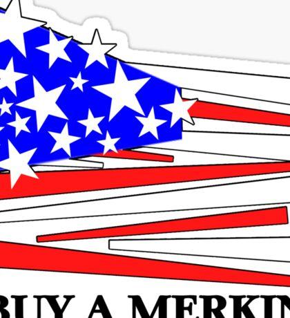 Buy A Merkin Sticker