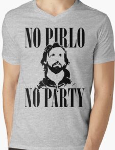 No Pirlo, No Party v2 Mens V-Neck T-Shirt