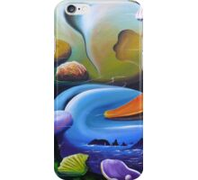 A world so strange I have to stay iPhone Case/Skin