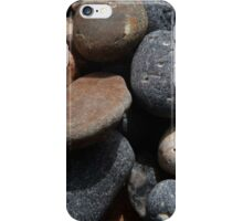 tumbling pebbles on a beach iPhone Case/Skin